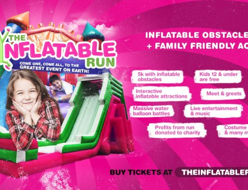 The Inflatable Run Helps Benefit Just Care More