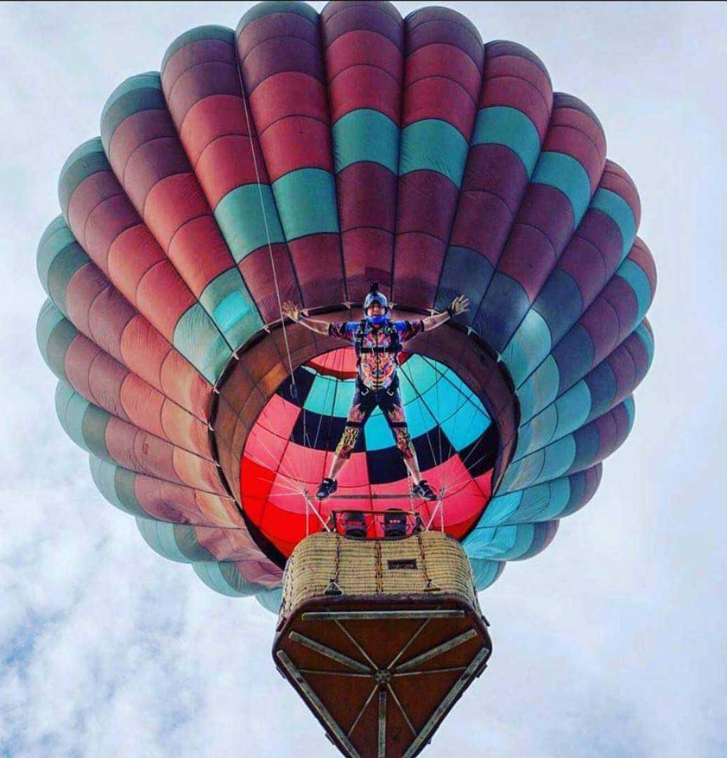 Hot Air Balloons, Indoor Skydiving, Presents & More For Local Foster